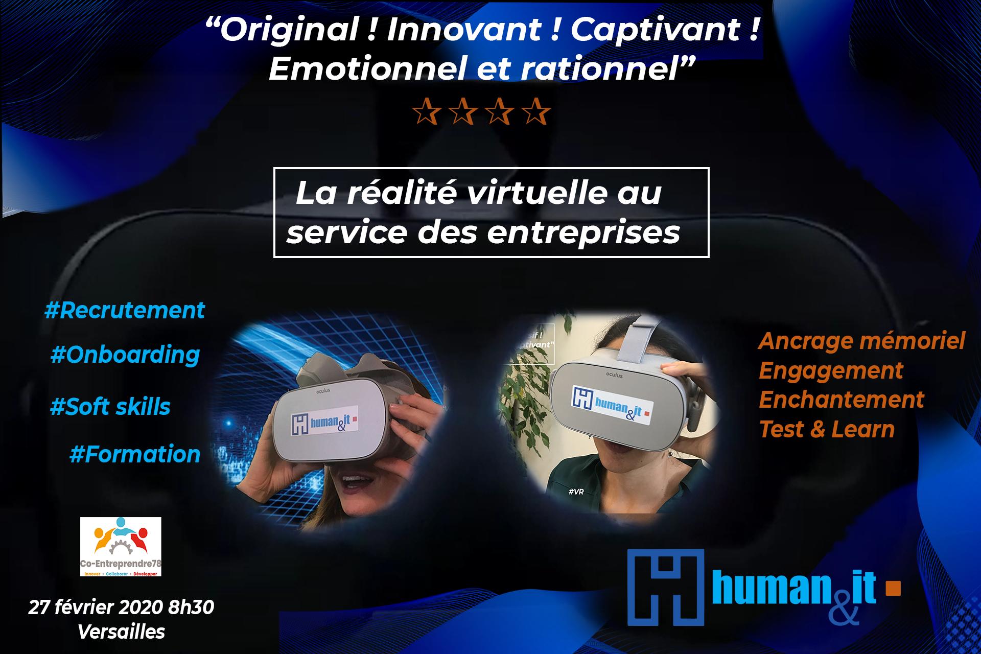 Expériences immersives - Human & IT